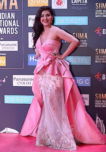 Malvika Sharma hot stills at SIIMA 2018 red carpet wearing wearing pink one off shoulder couture by Phio Enaje and styled by Pratiksha Chandak. https://www.southindianactress.co.in/telugu-actress/malvika-sharma-siima-2018/ @malvikasharma01  #malvikasharma #southindianactress #teluguactress #tollywood #tollywoodactress #indianactress #indiangirl #actress #fashion #style #gown #pinkgown #pinkcouture #couture #couturefashion #offshoulder #oneoffshoulder #cleavage #hotdress #hotgirl #hotindiangirl #beautifulgirl #beautifulindiangirl
