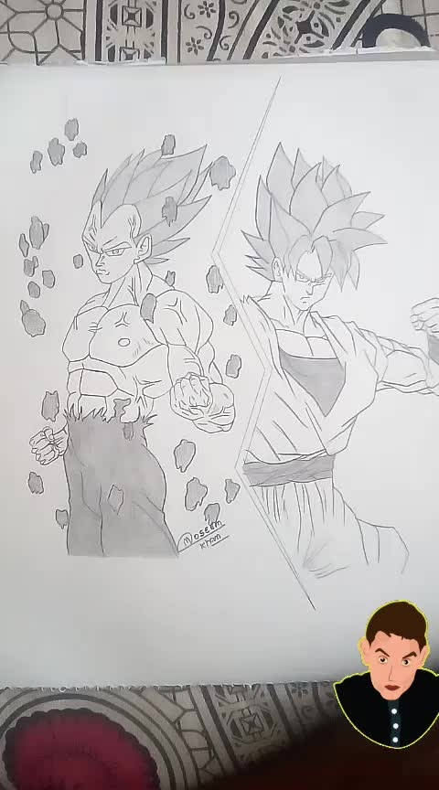 #dbz  • • 🎨 #art #toptags #artnerd #artsy #painting #sketch #drawing #arts_help #artfido #artshare #worldofartists #art_spotlight #art_collective #artsanity #supportart #arts_gallery #igart #pencildrawing #sketchbook #fineart #spotlightonartists #originalart #artvisual #art_worldly #instaartist #disegno #art_empire #artfeauture