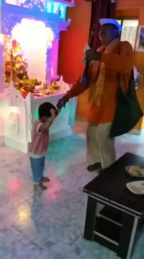#cute #dance #wow #ganpatibappamorya #littlebaby