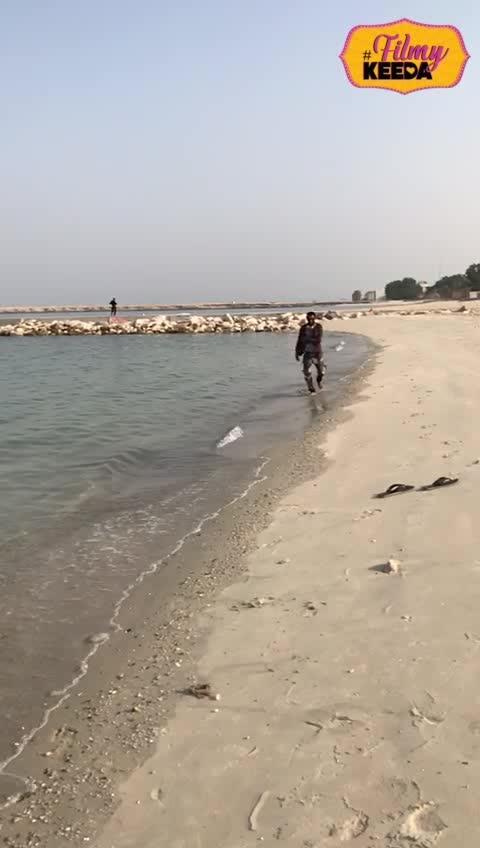 #beachlook #kuwait #faheemhairstylist #beachwear #filmykeeda