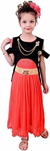 Safina Collection Girls Maxi/Full Length Party Dress  (Fashion Sleeve)   Fabric: Net Color: Multicolor Character: No Character Type: Gown Dress Maxi/Full Length Dress  #kids #clothes #girls #partywear #dresses #casual #trendy #fashionable #kidsfashion #girlsdress #girlsgown #western  #indotraditional #beautiful #elegant   Buy Now:- https://amzn.to/2MJkpWj