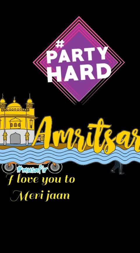 #moonwalking #musafir #amritsar #partyhard