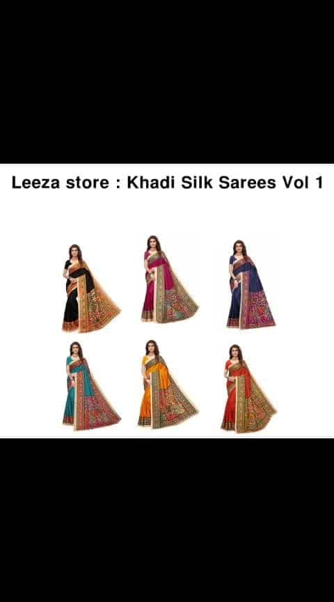 Khadi Silk Saree - - #fashion #style #stylish #love #photography #instapic #me #cute #photooftheday #nails #hair #beauty #beautiful #instagood #pretty #swag #pink #girl #eyes #design #model #dress #shoes #heels #styles #outfit #purse #jewelry #shopping