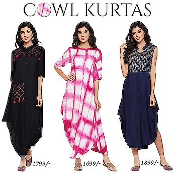 Make a trendy style statement with Studiorasa by 9rasa's cowl kurtas. Be bold, be trendy and wear them with style. Pair them up with straight pants or palazzos and the perfect jewelry.  Get your look now at https://9rasa.com/collections/cowl-kurta   #9rasa #studiorasa #bold #cowl #kurtas #blockprint #tiedye #tassels #jewelry #ethnic #contemporary #fashion #like #comment #share #followus #like4like #likeforcomment #like4comment #festival #blue #pink #black