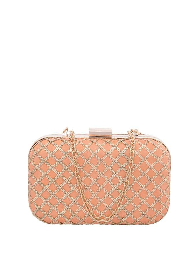 Get into the festive mood by planning your outfits before the festival season knocks your door. Get this beautifully crafted peach embroidered silk clutch at FLAT 40% OFF! Buy now : https://goo.gl/DS8tVA  #fashion #lookbook #womenwear #ethnic #bestdeals #buy #outfit #fashionupdate #ootd #wiw #bestdresses #bespoke #bridesmaids #bride #wedding #sangeet #asianbride #indianwedding #marraige