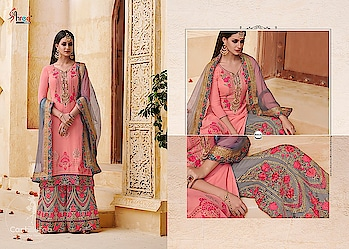 Shree Fabs Shehnai Vol-11 Georgette Pakistani Suits Wholesale Catalog Price per Piece :- ₹2,051 + ₹103 (GST 5%) Total Design :- 6 Pcs  Top :- Georgette  Bottom :- Santoon Dupatta :- Net Work :- Embroidery Product link :- https://castillofab.com/shree-fab-shehnai-vol-11-georgette-salwar-suits-supplier -------------------------------------------------------- Call/whatsapp :- +91 8530 23 23 30 Visit our website :- www.castillofab.com -------------------------------------------------------- #salwarsuits #wholesale #latestsuits #salwarkameez #international #designersalwar #newlaunch #brandedsalwarsuits #suratcollection #indianstyle #weddingwear #bestrate #salwarsuitdesignes #salwarsuitmanufacturer #palazzo #cottonsuits #castillofab