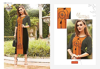 Krishriyaa Luxe Vol-05 Elegant Look Rayon Kurtis Wholesale Catalog Price Per Piece :- ₹531 + ₹27 (GST 5%) Total Design :- 10 Pcs. Fabric :- Rayon Size :- M,L,XL,XXL Product link :- https://castillofab.com/krishriyaa-luxe-vol-05-wholesale-rayon-kurtis-supplier ------------------------------------------------------------------- Call/whatsapp :- +91 8530 23 23 30 Visit site for products :- https://castillofab.com -------------------------------------------------------------------- #kurti #wholesalekurti #kurtidesign #womenkurti #kurta #newkurtidesign #kurtisonline #partywearkurtis #rayonkurti #latestkurti #brandedkurtis #kurtiwholesalesupplier #kurtiexporter #suratkurtis #IndianKurtis #castillofabLadies