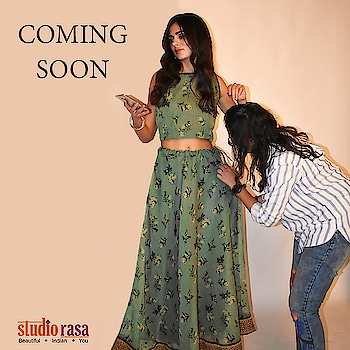 Studiorasa by 9rasa is getting ready for this festive season with some of the best designs for you. From skirts to lehengas to festive kurtas, we've got them all.  Get your look now only at https://9rasa.com/ . . . #9rasa #studiorasa #comingsoon #ethnic #festive #contemporary #skirts #lehengas #kurtas #occasion #fashion #photoshoot