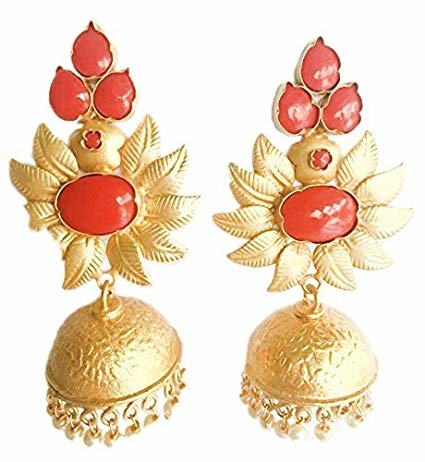 Imitation Artificial Jewellery Traditional Gold & Coral Jhumki Earrings for Women Girls Website Link- https://amzn.to/2DosyQS . . #jewelry #jewelrydesigner #silver #earrings #necklace #choker #colours #junkjewellery #imitationjewellery #fashion #latestfashion #trending #affordable #onlineshopping #india #mumbai #ring #wholesale #fashion #colors #bracelet #anklet #indianjewellery #westernjewelry #outfitideas #fashionista #accessories #party #beautiful #multicolor