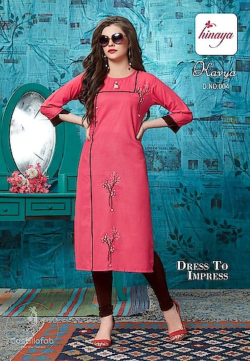 Hinaya Kavya Elegant Look Rayon Kurtis Wholesale Catalog  Price Per Piece :- ₹410 + ₹21 (GST 5%)  Total Design :- 7 Pcs.  Fabric :- Rayon  Size :- L,XL,XXL  Product link :- https://castillofab.com/hinaya-kavya-wholesale-designer-rayon-kurti-supplier  -------------------------------------------------------------------  Call/whatsapp :- +91 8530 23 23 30  Visit site for products :- https://castillofab.com  --------------------------------------------------------------------  #kurti #wholesalekurti #kurtidesign #womenkurti #kurta #newkurtidesign #kurtisonline #partywearkurtis #rayonkurti #latestkurti #brandedkurtis #kurtiwholesalesupplier #kurtiexporter #suratkurtis #IndianKurtis #castillofab