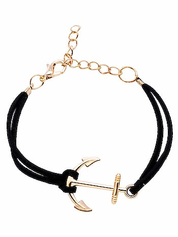 Anchor Charm Black Suede String Bracelet for Girls and Women Website Link- https://amzn.to/2DjKFax . . #jewelry #jewelrydesigner #silver #earrings #necklace #choker #colours #junkjewellery #imitationjewellery #fashion #latestfashion #trending #affordable #onlineshopping #india #mumbai #ring #wholesale #fashion #colors #bracelet #anklet #indianjewellery #westernjewelry #outfitideas #fashionista #accessories #party #beautiful #multicolor