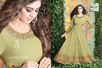 Rama Raazi Vol-02 Georgette Anarkali Suits Wholesale Catalog  Price per Piece :- ₹2,195 + ₹110 (GST 5%)  Total Design :- 8 Pcs  Product link :- https://castillofab.com/rama-raazi-vol-02-wholesale-georgette-suits-supplier  --------------------------------------------------------  Call/whatsapp :- +91 8530 23 23 30  Visit our website :- www.castillofab.com  --------------------------------------------------------  #salwarsuits #wholesale #latestsuits #salwarkameez #international #designersalwar #newlaunch #brandedsalwarsuits #suratcollection #indianstyle #weddingwear #bestrate #salwarsuitdesignes #salwarsuitmanufacturer #palazzo #cottonsuits #castillofab