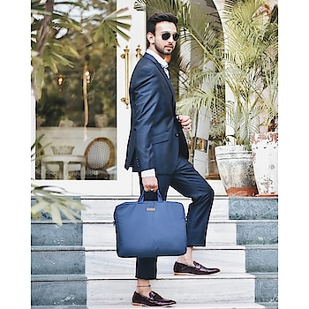 Karan (@karangoyal01 ) wears a Navy blue two-piece suit and accentuate his style with our 'Blue Ballistic Nylon City Compact Messenger Bag.' It's Definitely A Must-Have In Every Man's Wardrobe. We love your style!  Beautiful people out there, shop for your stylish DailyObjects!   #messengerbag #laptopbags #classic #blue #bluebag #styletips #officewear #officebags #officeessentials #officefashion #worklife #formals #presentation  #men-fashion #laptoplifestyle #shoulderbag #plain #stylish