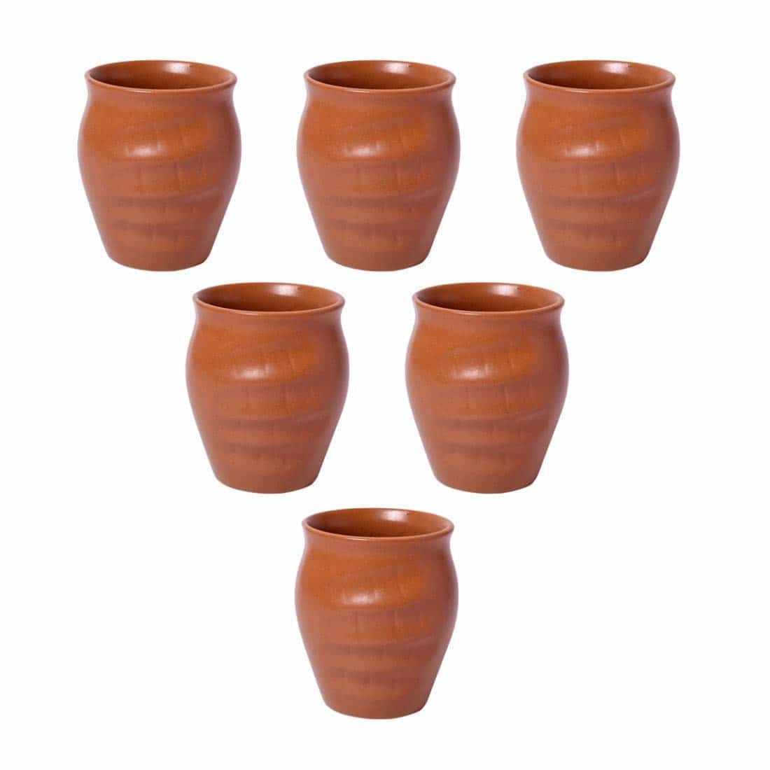 Kraftmania Re-Useable Ceramic Kullad for Hot & Cold Beverages - Set of 6  Here are some kullad and cups of low price from the house of Kraftmania.  #natural #kullad #cups #mug   https://www.amazon.in/dp/B07H5DGWZ7