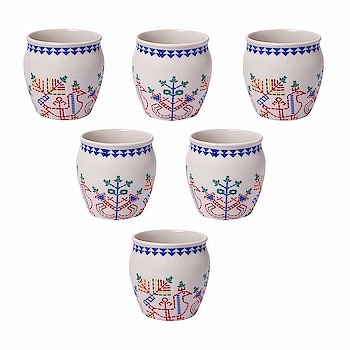 Kraftmania Re-Useable Ceramic Kullad for Hot & Cold Beverages - Set of 6  Here are some kullad and cups of low price from the house of Kraftmania.  #natural #kullad #cups #mug    https://www.amazon.in/dp/B07H5CNN9D