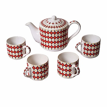 Kraftmania Tableware Serving Hot & Fresh Cups Saucer with Kettle  Here are some kullad and cups of low price from the house of Kraftmania.  #natural #kullad #cups #mug    https://www.amazon.in/dp/B07H5CKHHQ
