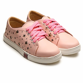 Tryfeet Pink Sneakers for Girls and Womens  Here are some amazing sneakers for low price from the house of tryfeet.  #sneakers #girlssneakers #sneakersforgirls  https://www.amazon.in/dp/B07H92PFRG