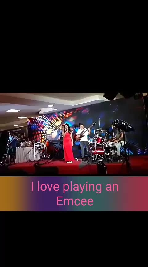 I #love playing am #emcee or #anchor on #stage for an #event. The #Mumbai crowd is always #fun and full of energy to #dance once the #music is on 💃