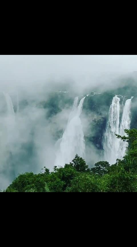 ಮಳೆಗಾಲದಲ್ಲಿ ಅಬ್ಬರಿಸಿ ಧುಮ್ಮಿಕ್ಕುವ ಜೋಗ ಜಲಪಾತ . Jog Falls during monsoon . . Video Credit : @prakash_hittalakoppa 🎥 . ___________________________________________________ Follow our page 🌼 @karnatakapravasi 🌼 and share your beautiful and amazing photos captured across Karnataka⛵ . . ಇಂತಹ ಮನಸೂರೆಗೊಳ್ಳುವ ಚಿತ್ರಕಾವ್ಯಗಳನ್ನು ನೋಡಲು ನಮ್ಮ 🌼 @karnatakapravasi 🌼 ಅಂಕಣವನ್ನು ಬೆಂಬಲಿಸಿ ⛵ ___________________________________________________ . #karnatakapravasi #karnatakatourism #jogfalls #waterfall #shivamogga #sagar #honnavar #uttarakannada #karnataka #karnataka_ig #travelphotography #incredibleindia