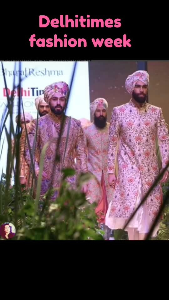 Delhitimes fashion week 2018                               Designer : @bharatreshma                                    Showstopper: @randeephoda.                       Show director : @pranavhamal            #delhitimes #fashion #showdirector #hairnmakeup #malemodel #model #indiandesigner #talentfactory #timesofindia