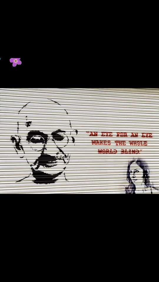 .... and therefore eyes are useless when the mind is blind. Happy Gandhi Jayanti. 💋💋💋 Love M #ChefMeghna #MahatmaGandhi  #2ndOct #GandhiJayanti  #Gandhi #Baapu #MohandasKaramchandGandhi #FoodForThought #quotes #Truth #nonviolence #brotherhood #flowers