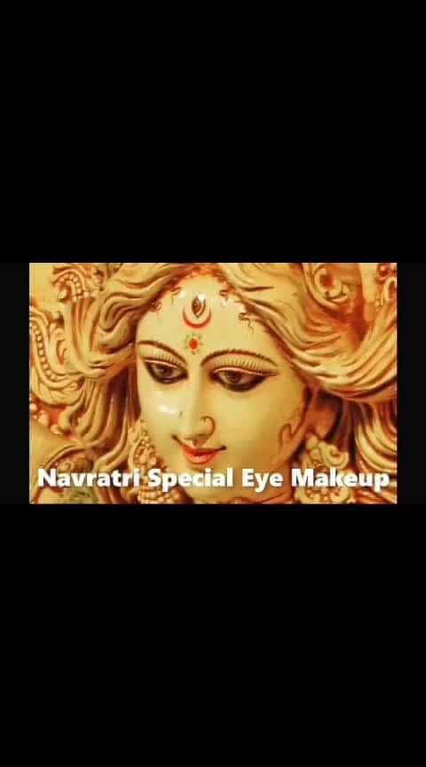 Navratri Special Eye Makeup  #eyemakeuptutorial #eyemakeup #navratri2018 #navratrilooks