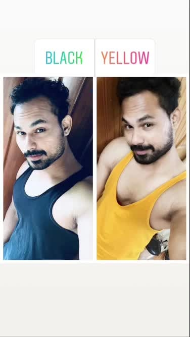 Comment plz guys   Black or yellow