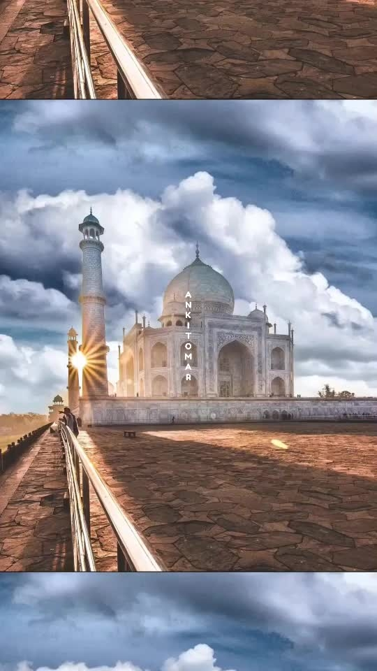 Being Right on the track in life is as important as in a trecking adventure... ONE wrong move and you are lost from your goal/destination.. and who knows if there is a u-turn ahead or not.. BE CAUTIOUS while enjoying life piece by piece, day by day!!! . . #travelphotography #tajmahal #pixaloop #photoediting #sunset #7wondersoftheworld #tajmahalagra #tajmahalindia #wandering #travelgram #quotes #quotesbyme #quoteoftheday #quotesgram #love #positivity #positivevibes #rightontrack #destinations #clouds #photography #biker #bikersofinstagram #loveforbikes #gediyaan #travelling