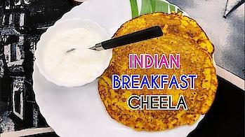 Indian Healthy Breakfast Recipe|Ghiya Cheela Healthy And Quick Vegetarian Recipe #healthylife#healthybreakfast#protien#recipeoftheday#veg
