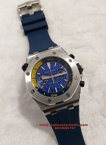 Audemars Piguet Diver Chronograph Blue Men's Watch Rs. 9999/- https://replicastoreindia.com/   Replica First Copy Watches   CASH ON DELIVERY ALL OVER INDIA   Contact Us - 9833686707 Email- Info@replicastoreindia.com   We Are Top Rated Replica First Copy Watches Dealer in India We Truly Believe In Quality We Sell Top Quality Swiss Made Replica First Copy Watches To Our Customers & Provide Best Customer Service  Free Shipping | Cash On Delivery | Easy Returns. #creativespace #rx100  #partystarter #thehappyone #weekend  #mystylemantra #look #styleblogger #fashionista #instagram #photography #creativespacechannel #womensfashion #shopping #onlineshopping #wedding #summerfashion #youtuber #black #trendy #makeup #beautiful #mumbai #cool #summer-style #loveyourself #style #ootd #model #followme #summerstyle #indianblogger #ethnic #myfirststory #fashionblogger #look #ropo-good #dress #india #indianblogger #shopping #shoes #model #mystylemantra #newdp #trendy #ropo-love #summer-style #roposogal #myfirstpost #swag #summerfashion #soroposo #desi #loveyourself #onlineshopping   #romanticplace #songs #mystylemantra #look #styleblogger #fashionista #instagram #photography #women-fashion #womensfashion #shopping #onlineshopping #wedding #summerfashion #youtuber #black #trendy #makeup #beautiful #mumbai #cool #summer-style #loveyourself #style #ootd #model #followme #summerstyle #indianblogger #ethnic #myfirststory #fashionblogger #look #ropo-good #dress #india #indianblogger #shopping #shoes #model #mystylemantra #newdp #trendy #ropo-love #summer-style #roposogal #myfirstpost #swag #summerfashion #soroposo #desi #loveyourself #onlineshopping #roposolove #love #aselfieaday #springsummer #fashiondiaries #fun #ootd #makeup #beauty #ootd #outfitoftheday #lookoftheday #TagsForLikes #fashion #fashiongram #style #love #beautiful  #ootdshare #outfit #clothes #currentlywearing #lookbook