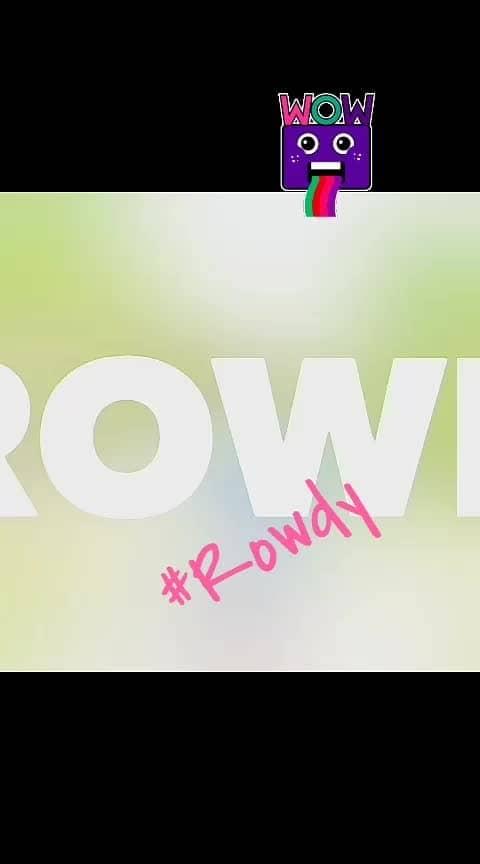 #rowdyrockstar #rowdy #roposo-music #music #musicallyindia #telugulyrics #hollywoodlife #natural #natural-look #timesofindia #unitedstates