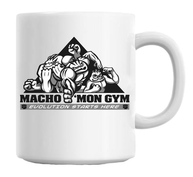 Macho'mon Gym Coffee Mug Cup 11 Oz Add some mood to your #coffee break - enjoy your favorite design on the #mug at work or at home. This personalized mug might be a pleasant surprise gift for your friends. Our mug is made of high quality durable #ceramics and has a capacity of 11 Oz (325ml) The mug is #dishwasher_safe. Plus, you can also put it in the #microwave to heat or re-heat your favorite beverages!  https://packables.co/collections/gym/products/machomon-gym-coffee-mug-cup-11-oz
