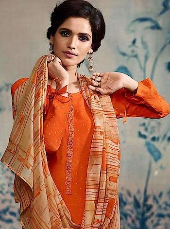 #summerstyle #salwarkammez#longdress #onlineshopping @ http://www.indiwear.com  ElegantSalwar Kameez by Indiwear.com Shop on www.indiwear.com   ▶ Free Shipping in India ▶ Worldwide delivery  #indiwear #gentility #grace #grandeur #nobility #purity #beauty #indianwear #indianethnicwear #salwarkameez #style #class #culture #gracefulness#dress#fancydress#orangecolour