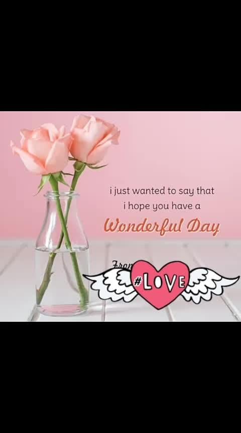 #goodmorningall #loveness #beautifulmorning