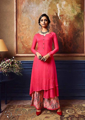 #summerstyle #kurti With Palazoo#onlineshopping @ http://www.indiwear.com Fancy Kurti With Palazoo by Indiwear.com Shop on www.indiwear.com   ▶ Free Shipping in India ▶ Worldwide delivery  #indiwear #gentility #grace #grandeur #nobility #purity #beauty #indianwear  #kurtiwithpalazoo#style #class #culture #gracefulness#fancy#designerkurtiwithpalazoo #fancy