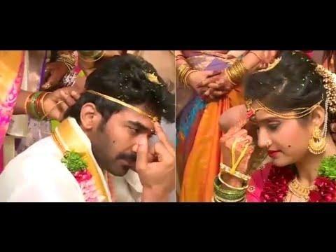 mogalirekulu serial hero #sagar marriage video