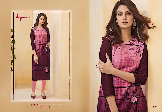LT Nitya Aura Vol-02 Stylish Rayon Kurtis Wholesale Catalog Price Per Piece :- ₹391 + ₹20 (GST 5%) Total Design :- 12 Pcs. Fabric :- Rayon  Printed Size :- M ,L, XL, XXL Upcoming Date :- 2018-10-14 Product link :- https://castillofab.com/LT-nitya-aura-vol-02-wholesale-rayon-kurti-supplier ------------------------------------------------------------------- Call/whatsapp :- +91 8530 23 23 30 Visit site for products :- https://castillofab.com -------------------------------------------------------------------- #kurti #wholesalekurti #kurtidesign #womenkurti #kurta #newkurtidesign #kurtisonline #partywearkurtis #rayonkurti #latestkurti #brandedkurtis #kurtiwholesalesupplier #kurtiexporter #suratkurtis #IndianKurtis #castillofab