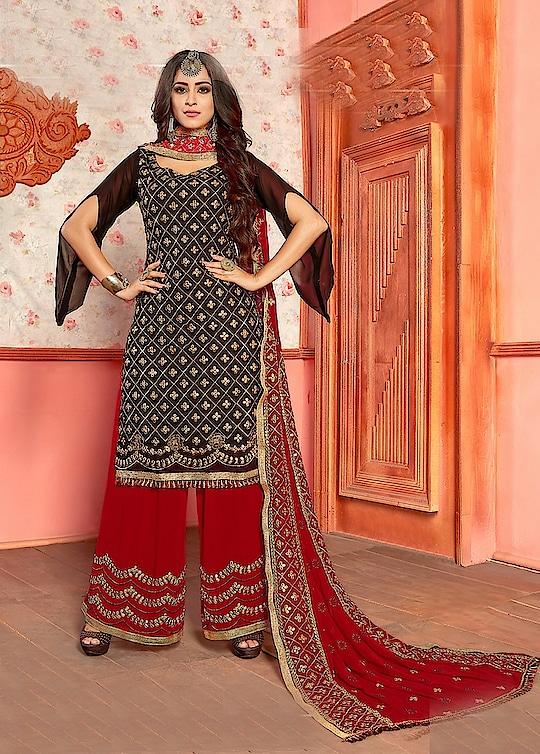 Designer Pakistani Georgette Salwar Suits Wholesale Catalog Price per Piece :- ₹1,895 + ₹95 (GST 5%) Total Design :- 5 Pcs  Top :- Georgette Bottom :- Georgette Dupatta :- Nazneen Work :- Gota Patti Product link :- https://castillofab.com/indian-wholesale-designer-georgette-salwar-suit-exporter -------------------------------------------------------- Call/whatsapp :- +91 8530 23 23 30 Visit our website :- www.castillofab.com -------------------------------------------------------- #salwarsuits #wholesale #latestsuits #salwarkameez #international #designersalwar #newlaunch #brandedsalwarsuits #suratcollection #indianstyle #weddingwear #bestrate #salwarsuitdesignes #salwarsuitmanufacturer #palazzo #cottonsuits #castillofab