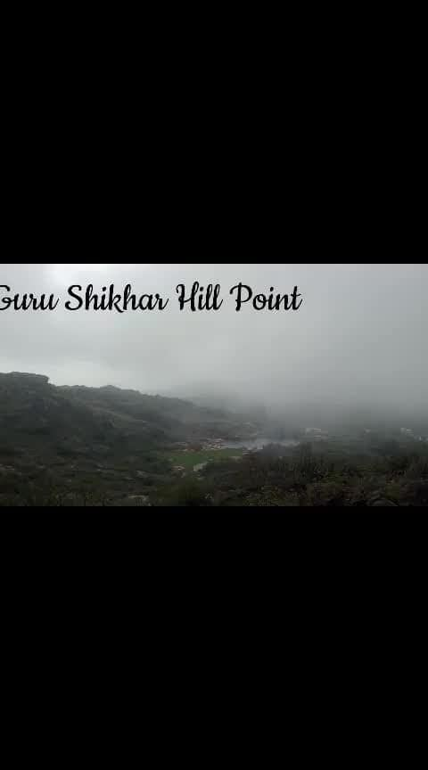 Top View from Guru Shikhar Hill Point, Mount Abu #mountabu #travelling #travel #travel-diaries #travel-love #wanderlust-traveller #travellover #travelmode #travelonroposo #mountainlove #mountainview #mountainvibes #followmeonroposo