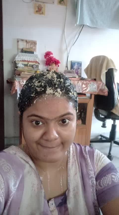 #natural-hair  #hairspa  #subornachatterjee