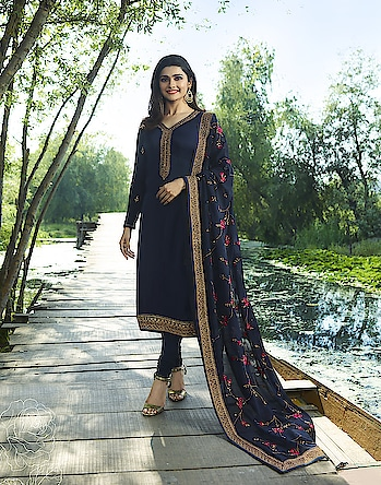 Prachi Desai Blue Georgette Straight Suit. Visit Here Price For More :-https://bit.ly/2OkrKRY  * * * * #salwar #salwarsuits #dress #dresses #longsuits #suitsonline #embroidered #motiwork #onlinefloralsuit #floral #fashion #style #prachidesaisuit #gowns #classy #designer #partywear #partyweargown #partywearlehenga #exclusive #ethnic #floralprinted #love #us #uk #usa #international #worldwideshipping 📦 ✈