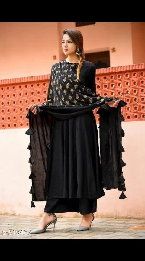 *Aaliyah Designer Rayon Kurtis*  Fabric: Kurti: Rayon, Palazzo: Rayon, Dupatta: Net  Sleeves: Variable (Message Us for Product Details)  Size: Kurti: Upto 44 in (Free Size), Palazzo: Upto 34 in (Free Size), Dupatta: 2.25 mtr  Length: Kurti: Up to 48 in, Palazzo: Upto 40 in  Type: Stitched  Description: It Has 1 Piece Of Kurti With Palazzo & Dupatta  Work: Foil / Tassel / Lace  Dispatch: 6 - 8 Days  Designs: 9  Easy Returns Available In Case Of Any Issue *Cash On Delivery Available* _It's time that you amp your glam look with these Foil /Tassel/ Lace Work Kurtis. Be your own fashion designer!_  #ajmer  #jaipur  #rajasthandiaries  #online_fashion  #onlineshoppe  #onlineshoppingforwomen  #kurtipalazzoset  #kurtilook  #onlineshoppingindia  #onlinestores  #onlinedeals  #ladiesfashionwears  #plazzokurtiset
