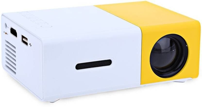 Royal Mobiles LED Projector 600 lm LED Corded Mobiles Portable Projector  (Yellow) Projection Range 6 m Screen Size 0.43-2.45 m Resolution: Native Resolution: 320 x 240 Resolution Support: 1920 x 1080 Pixel Weight 200 g  Here are smart gadgets from the house of Royal Mobiles For purchase you can just click on the image and shop now Flipkart market place #gadgets #smartgadgets #securitytracker #projector #chargingpad #digitalcamera https://bit.ly/2q3TFr2