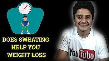 Sweating for weight loss-Does it really help you to burn calories during workout #weightlosstips #fatlosstips #weightloss #workout #sweating