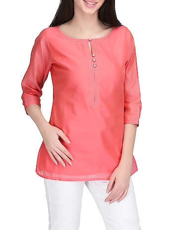 Pink Satin Casual Top  color :  pink material :  satin product contains :  1 top set of ( number of units in set) :  1 length (inches) :  24 print & pattern :  solids lining material :  cotton neck :  round type :  regular  #womens #clothing #top #kurti #fashionable #womensfashion #womenskurti #womenstop #ethnic #western #designer #stylish #printed #new #trendy   Buy Now:- https://bit.ly/2NqfNpJ