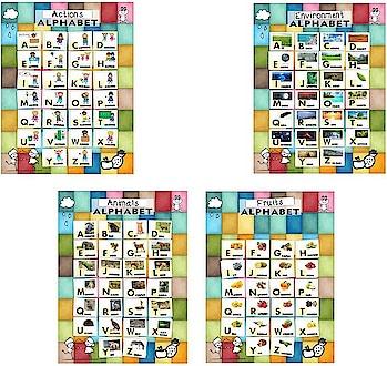 Alphabet Interactive Poster Chart for Kids Paper Print (10 inch X 18 inch)  https://bit.ly/2QT5KKP  #Poster #KidsPoster #AlphabetPoster #AnimalPoster