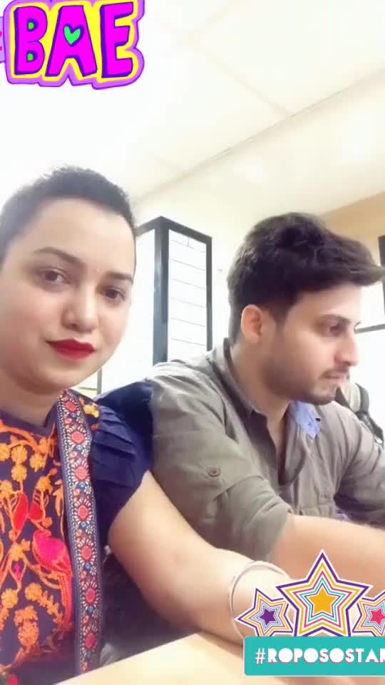 #roposo-funny #funnyface with #bae @roposotalks #roposostar #bae