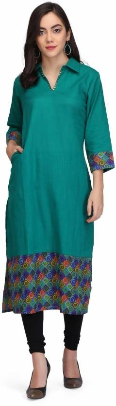 PRINTEMPS Casual Printed Women Kurti  (Green)  Sleeve Type: 3/4 Sleeve Fabric: Cotton Casual Wear Pattern: Printed Pack of: 1 Suitable for: Ethnic Wear  #womens #clothing #designer #printed #stylish #fsahionable #kurti #womenskurti #designertop #top #womenstop #fashion #embroided #longkurti #short #designertop   Buy Now:- https://bit.ly/2CQn4wT