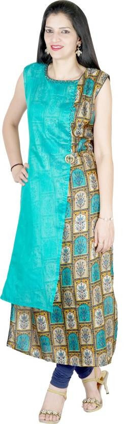 Aamani Festive & Party Embroidered Women Kurti  Sleeve Type: Sleeveless Fabric: Chanderi Silk Festive & Party Wear Pattern: Embroidered Pack of: 1 Suitable for: Ethnic Wear comfortable designer long Embroidery kurti. Full Refresh your mood with this colour and style. Combination of its colour and fabric gives it an outstanding and Rich look. Here are very beautiful designer part & festive wear silk kurti in XL size from the house of AAMANI For purchase you can just click on the images #kurti #womenwear #ethnicwomenwear #designerwomenwear #silkkurti #festivewear #kurtiforwomen https://bit.ly/2J2JlIp