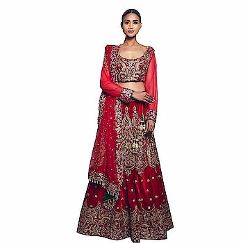 Pushp Paridhan Wedding Wear Machine with hand work Ethnic Wear Red Velvet Bridal Lehenga From the House of Pushp Paridhan Soft and comfortable fabric of this Bridal Women Lehenga,The Fabric Is Very Soft To Touch And Fits Perfectly  To buy click on this link:- https://amzn.to/2OuYuId  #lengha, #womenlengha #partywearlengha #traditionallehnga